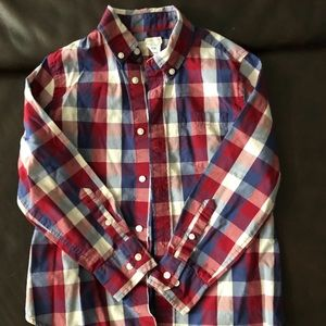 Boys J Crew Button Down - sz 6-7